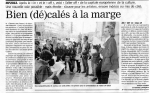 article marseillaise  25 avril 2012 conférence presse  du 24 devant la Poste Colbert.